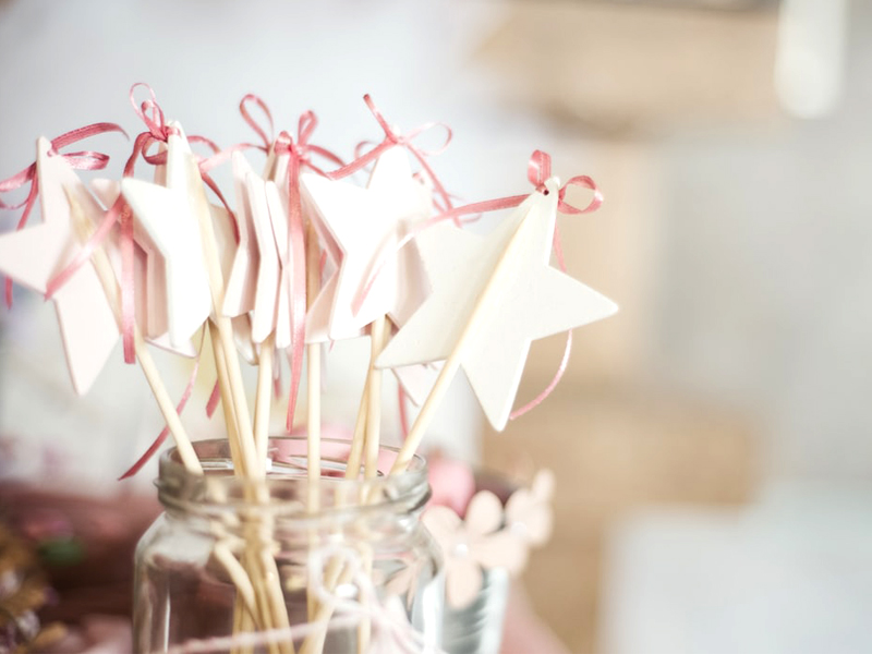 Planning A Christening - Christening Favors Wands