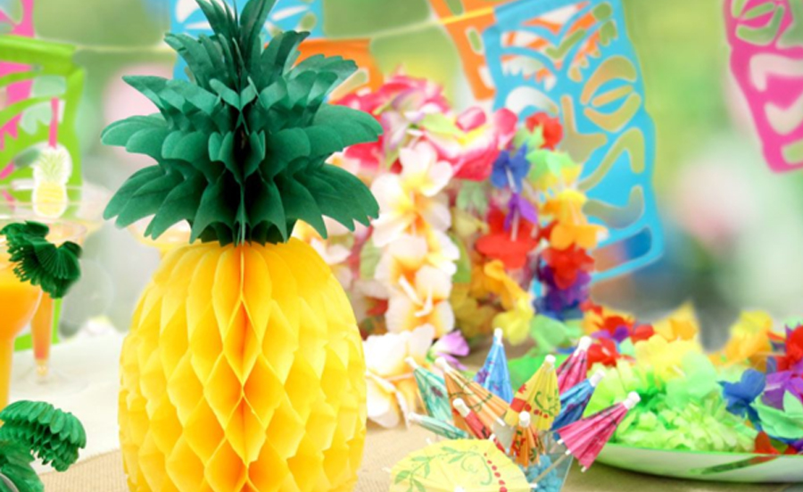 Engagement Party Planning - Luau Party Materials