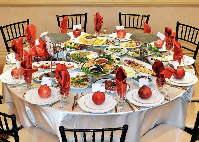 Nairi Banquet Hall - Special Events Venue - Dining
